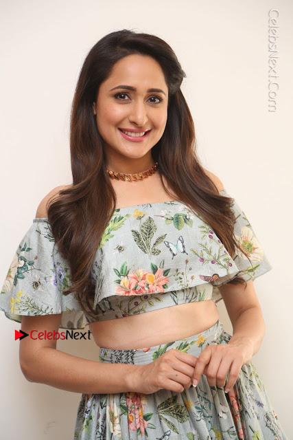 Actress Pragya Jaiswal Stills in Floral Dress at turodu Interview  0007.JPG