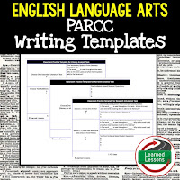 English Writing Rubrics, PARCC