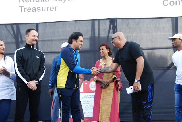 Dr. Mickey Mehta, Govinda & Hemant Nair-
