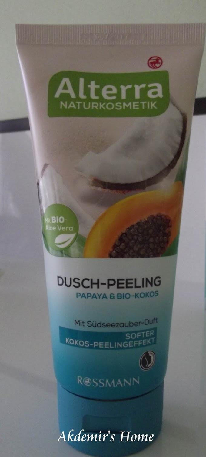 Alterra Duş Peelingi -  Papaya ve Hindistan Cevizli