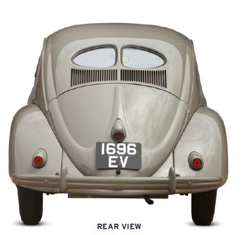 Volkswagen Beetle, classic car