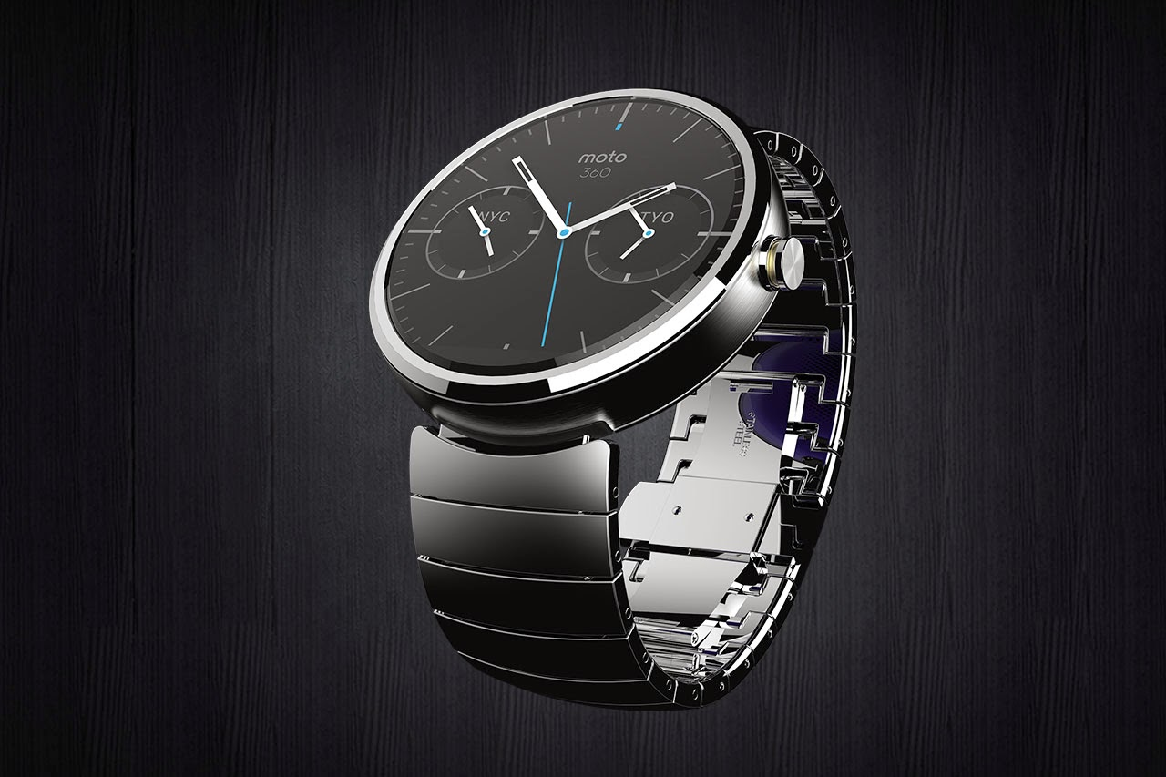 Moto 360 Watch Steel band