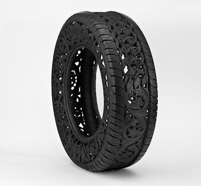 Cool and Creative Hand Carved Car Tires (15) 6