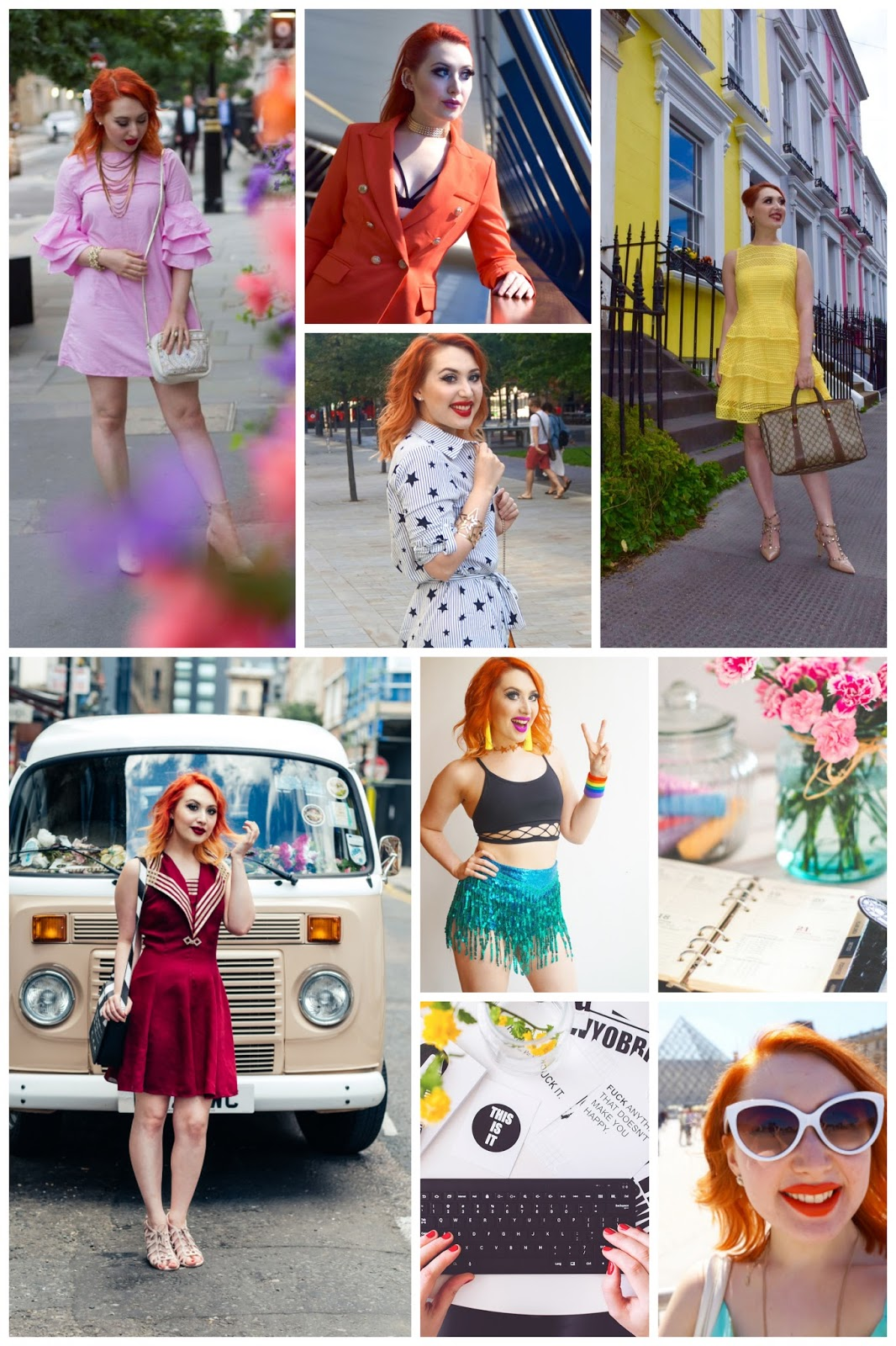 blogger crushes, favourite bloggers, blog recommendations, orange hair, colourful blogger, Scottish Blogger, London blogger, Twenty-Something City