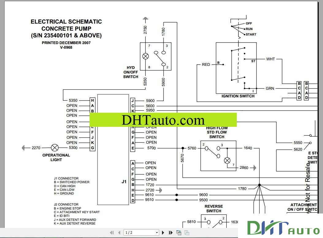 Bobcat Schematics Full Set Manual