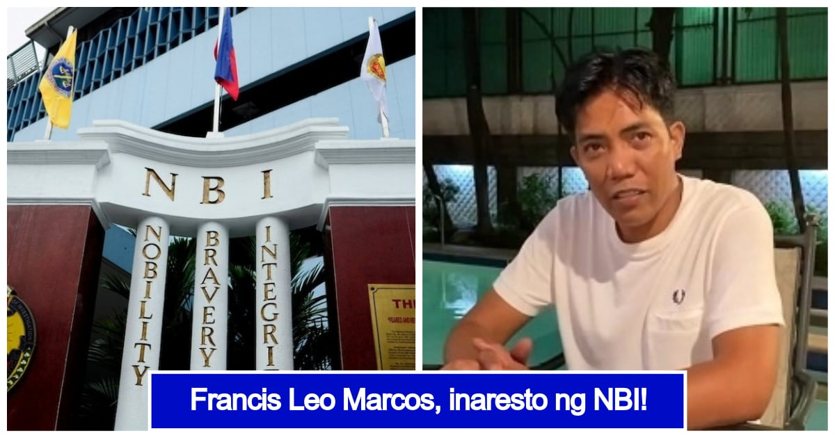 LOOK: Francis Leo Marcos gets arrested by NBI for alleged violation of Optometry Law | Kami.com.ph