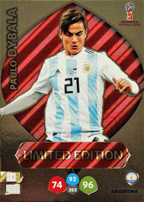 c58948eaa Football Cartophilic Info Exchange: Panini - Adrenalyn XL FIFA World Cup  2018 Russia (08) - Limited Edition Illustrated Checklist
