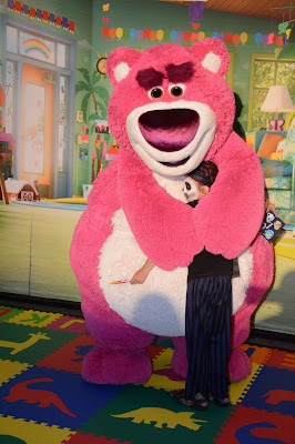 Lotso at Disney World
