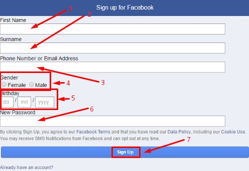 create new gmail account for facebook