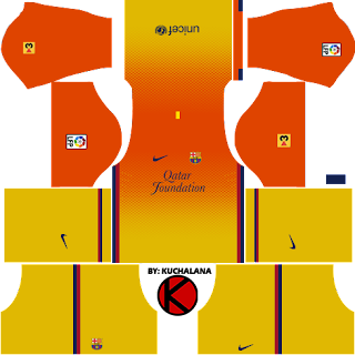 0494dcb4211 Barcelona Kits 2012/2013 - Dream League Soccer - Kuchalana
