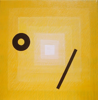 abstraction, abstrait, jaune, couleur
