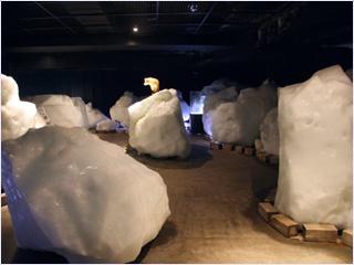 พิพิธภัณฑ์ธารน้ำแข็ง (Drift Ice Museum)
