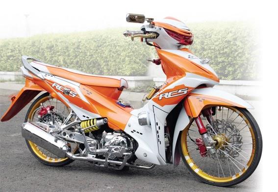Kumpulan Modifikasi Motor Info Terbaru Honda Absolut Revo Modifikasi Ceper