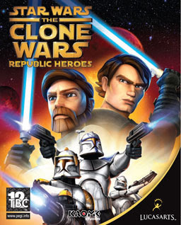 Star Wars The clone pc game cover