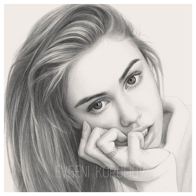 07-Still-remember-her-Evgeni-Koroliov-Pencil-Portrait-Drawings-Contour-Maps-www-designstack-co