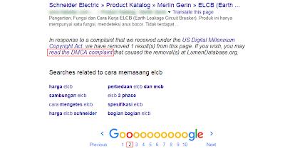 107 Artkel Di Copy Paste Langsung Saya Laporkan ke Google DMCA