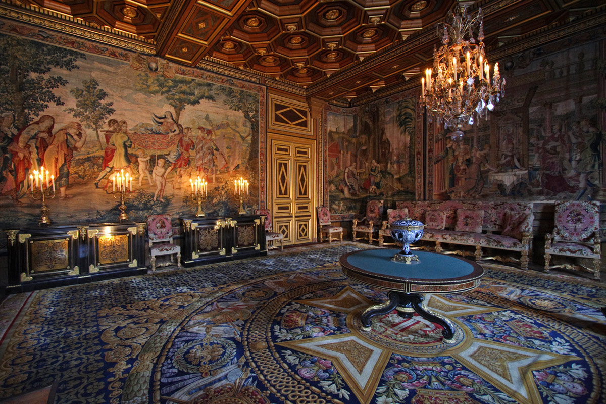 Interiors France Eye For Design The Interiors Of Chateau Fontainebleau