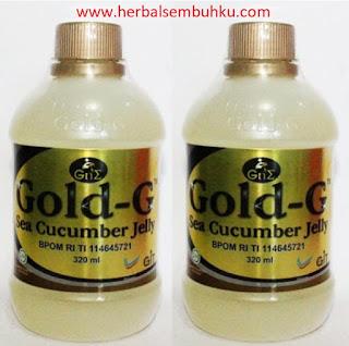 JUAL JELLY GAMAT GOLD G 320 ML DI SURABAYA SIDOARJO JAKARTA