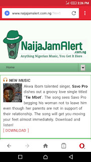 Music promoted on NaijaJamAlert.com.ng