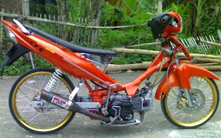 modifikasi jupiter z1 road race