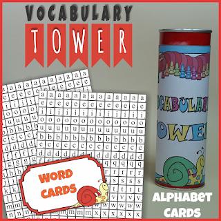 https://www.teacherspayteachers.com/Product/Vocabulary-Tower-Alphabet-Cards-Letter-Tiles-2578001