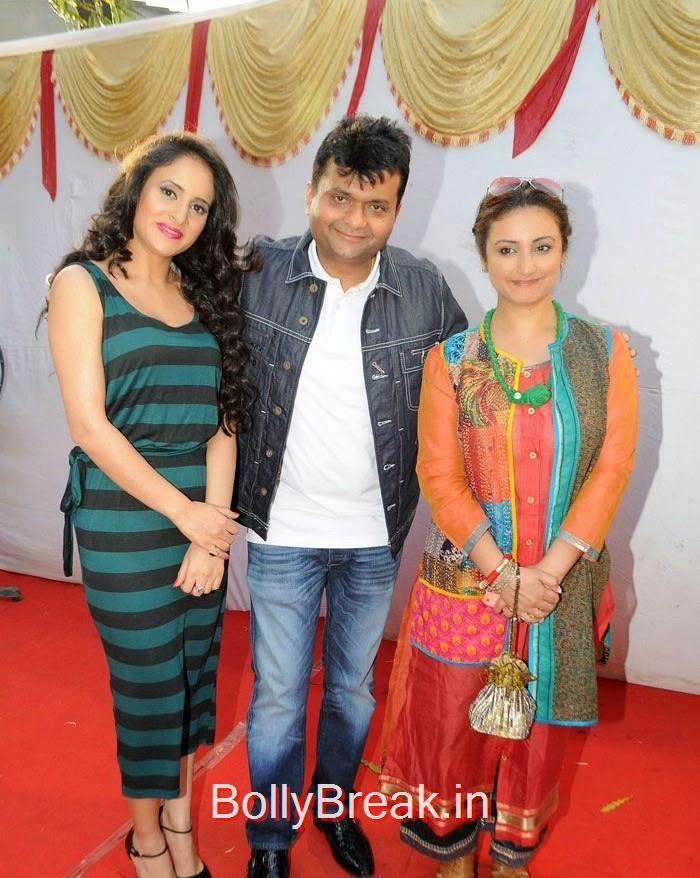 Shweta Khanduri, Aneel Murarka, Divya Dutta, Hot Images of Shweta Khanduri, Divya Dutta At Spreading Awareness for Eco Friendly Holi Festival