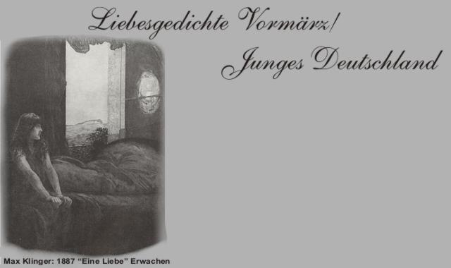 Gedichte Und Zitate Fur Alle Vormarz Liebesgedichte H Heine Im