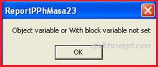 eSPT PPh 23 Error Object Variable Or With Block Not Set