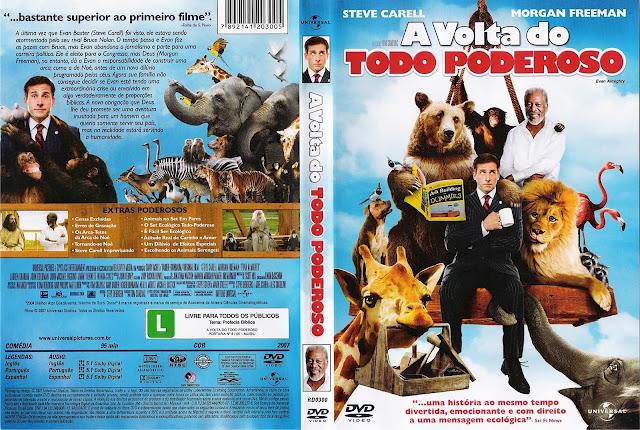 Capa DVD A Volta do Todo Poderoso