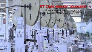 Loker Operator Produksi SMA/SMK Terbaru Via Email PT Cipta Mandiri Wirasakti (CMW)
