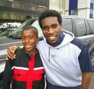 Throwback Picture Of Arsenal Star, Alex Iwobi And Jayjay Okocha