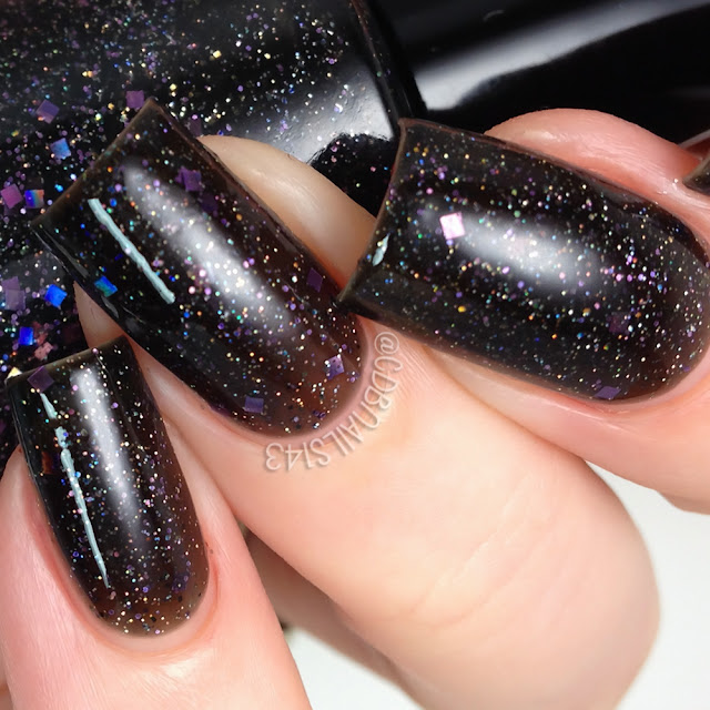 Sassy Pants Polish-Black Widow