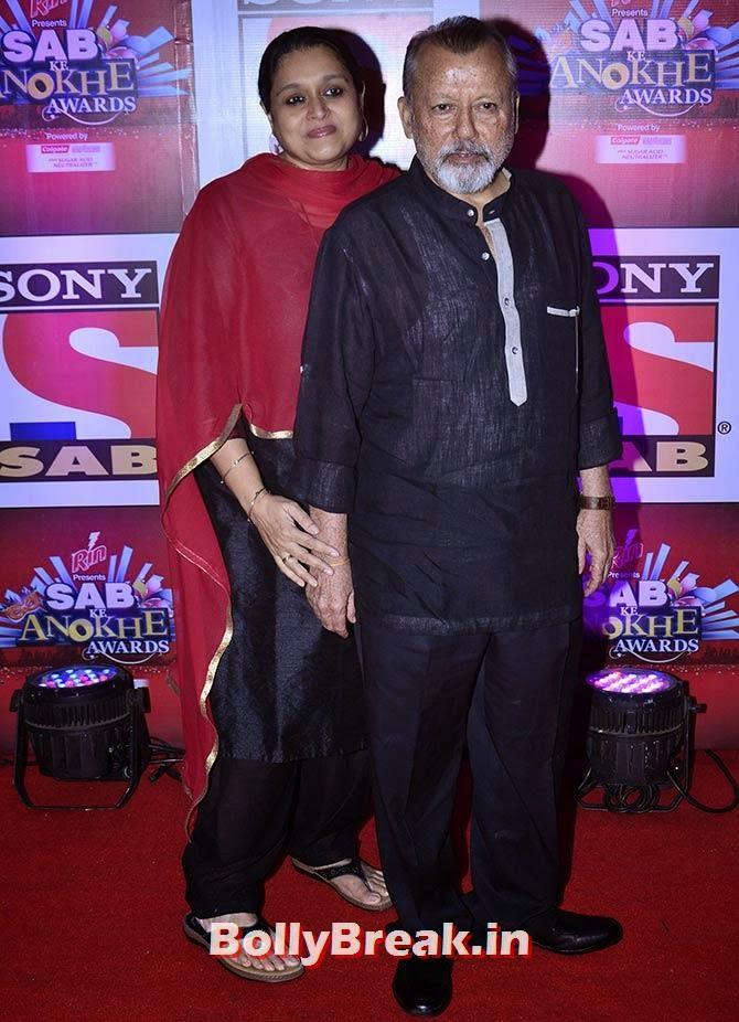 Supriya Pathak and Pankaj Kapur, SAB Ke Anokhe Awards Photo Gallery