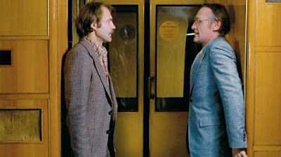 Bruno Ganz y Dennis Hopper en El amigo americano