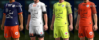 Kits Montpellier 2016-2017 GDB Pes 2013 By thebeast8968