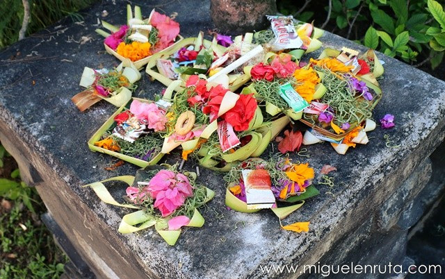Ofrendas-Bali