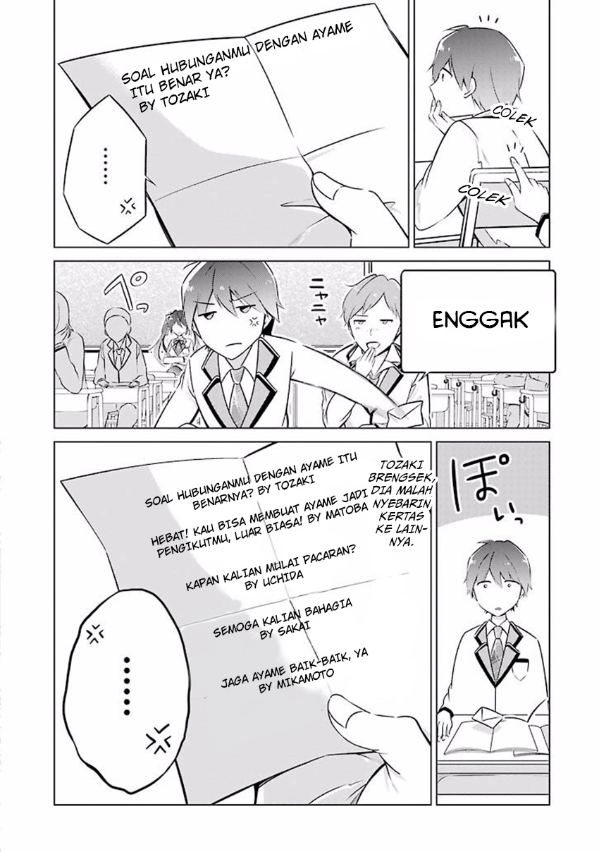 Manga Chuuko Demo Koi Ga Shitai Chapter 3 Bahasa Indonesia