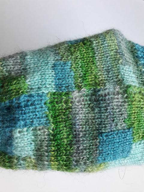 Winwick Mum patchwork socks