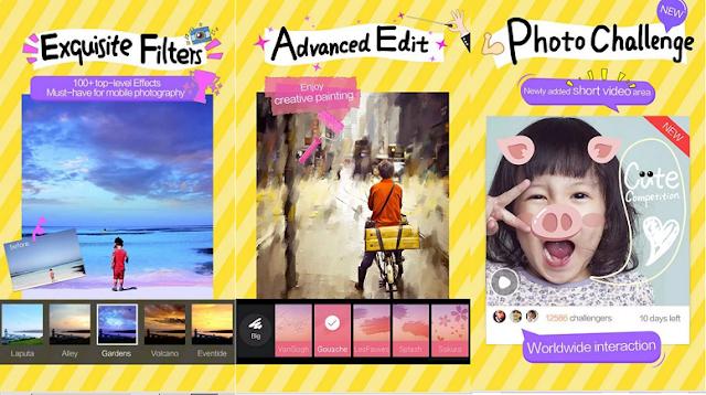 تطبيق Camera360 أفضل برنامج كاميرا للأندرويد والآيفون