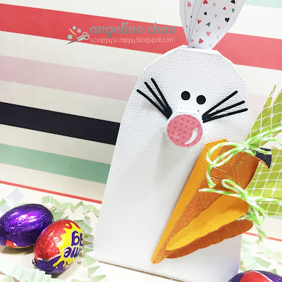 ScrappyScrappy: Easter bunny #svgattic #scrappyscrappy #jgwhappyeaster #easter #easterbunny #svg #cutfile #3dproject