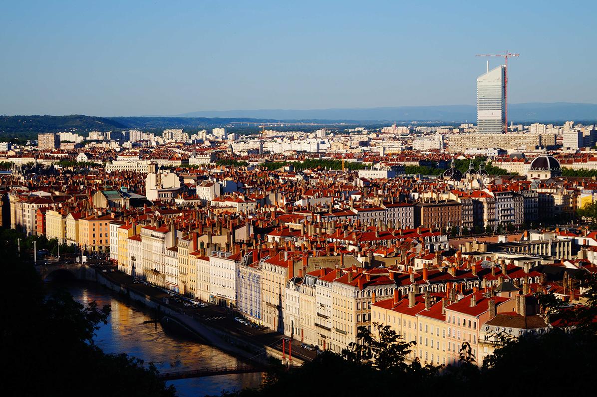 Vue panoramique Lyon Incity Visites guidées