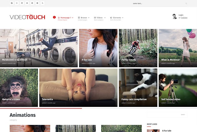 VideoTouch Best WordPress Video Themes For Embedded and Self-Hosted Videos 2016