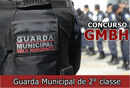 Concurso Guarda Municipal BH - Prefeitura de Belo Horizonte
