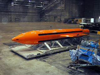 GBU-43/B Massive Ordnance Air Blast MOAB