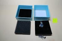 Box Inhalt: Neoglory Jewellery Silber mit Swarovski Elements Halskette Armkette Ohrringe Tropfen blau