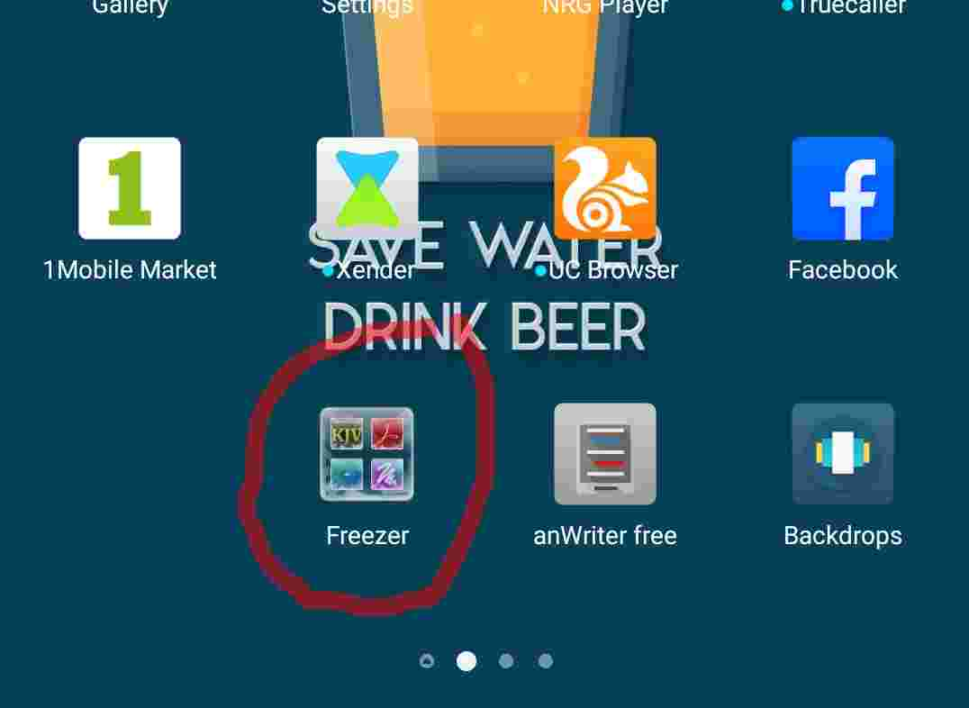 Infinix App Freezer Icon