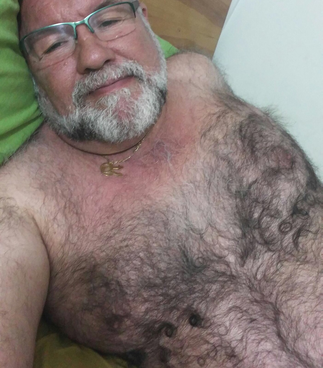 Touching Hairy nude older men that interfere