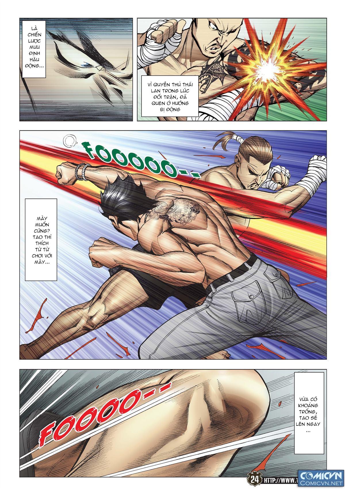 Người Trong Giang Hồ chapter 2143: ác chiến vua muay thai trang 22