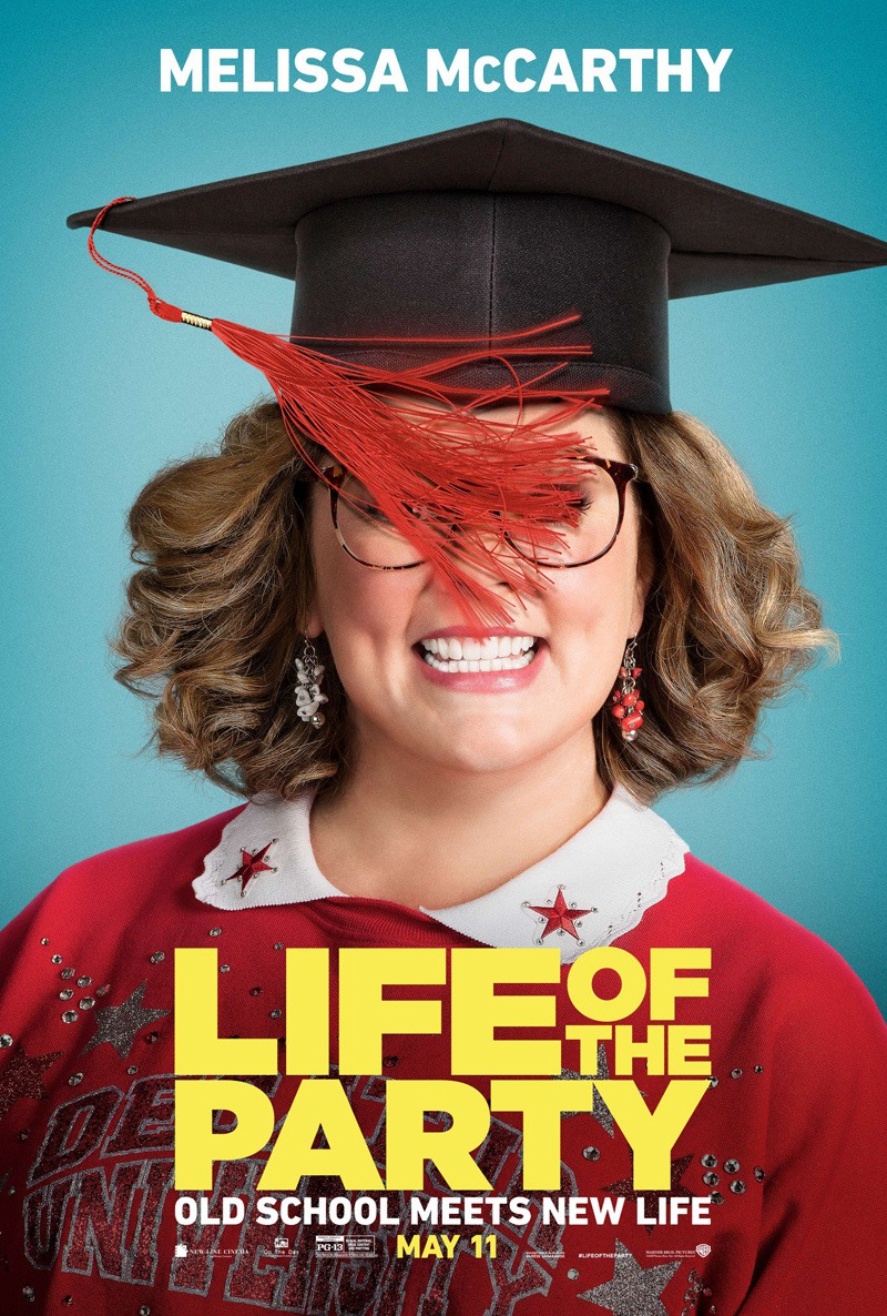 Life of the Party (BRRip 720p Dual Latino / Ingles) (2018)