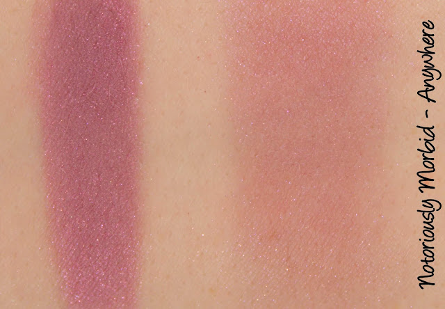 Notoriously Morbid Blush - Anywhere Swatches & Review